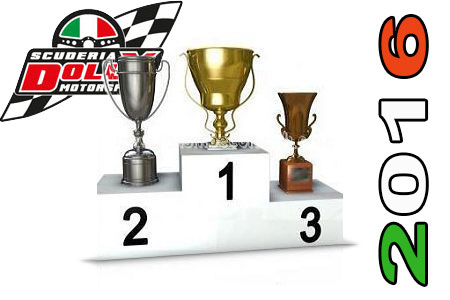 Classifica Dolly Motorsport 2016